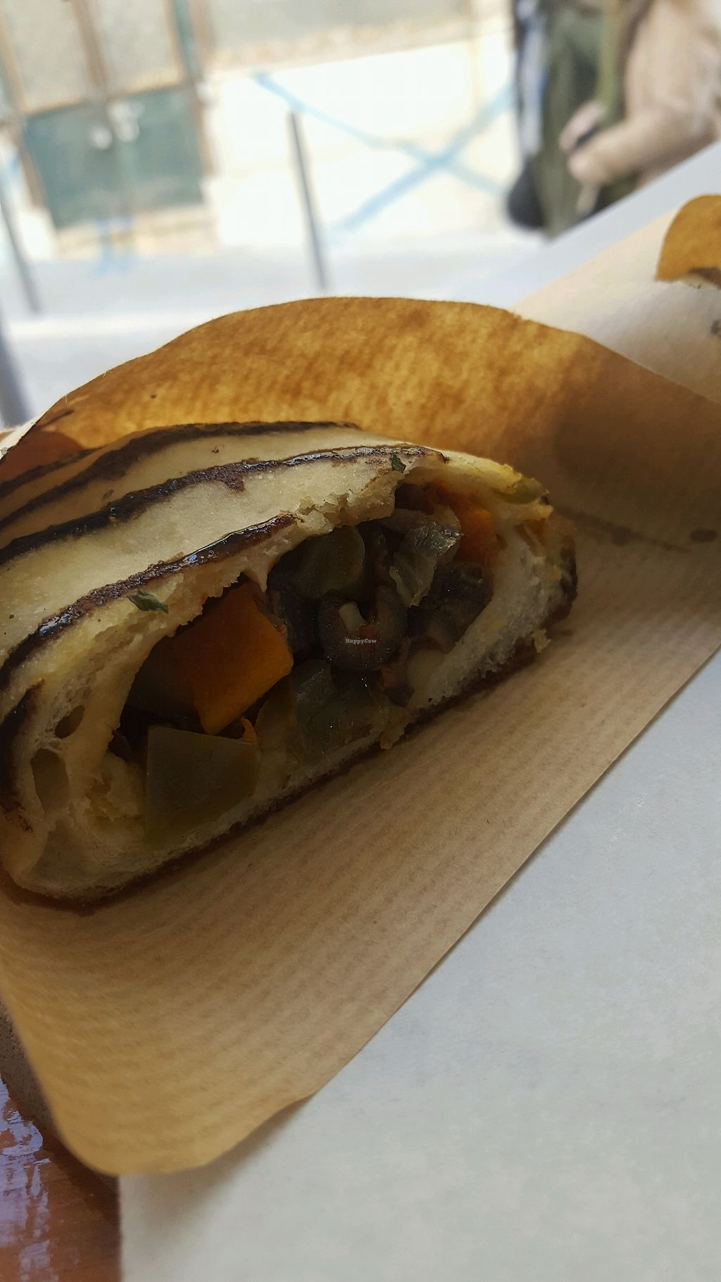 """Photo of Primo Basilico  by <a href=""""/members/profile/loveforveganfood"""">loveforveganfood</a> <br/>calzone <br/> February 24, 2018  - <a href='/contact/abuse/image/36324/363264'>Report</a>"""