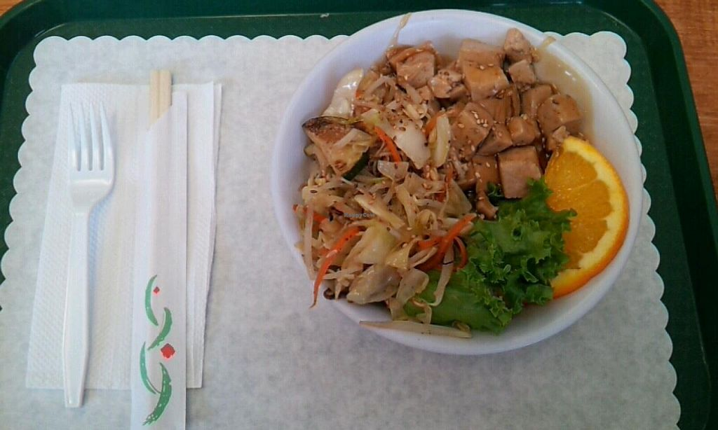 Photo of Koko Kitchen  by Navegante <br/>Tofu Teriyaki 04-08-2014 <br/> April 8, 2014  - <a href='/contact/abuse/image/36371/67231'>Report</a>