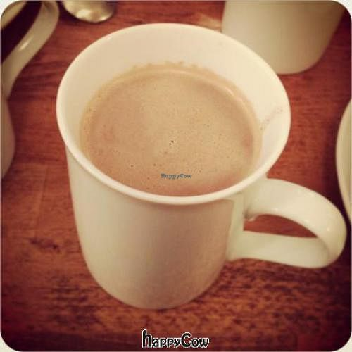 """Photo of Cafe Pinson - Marais  by <a href=""""/members/profile/Kardinal"""">Kardinal</a> <br/>Hot Chocolate with Hazelnut milk <br/> January 19, 2013  - <a href='/contact/abuse/image/36460/43167'>Report</a>"""