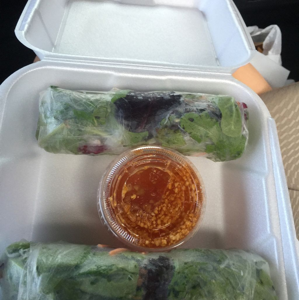 """Photo of Siamese Street  by <a href=""""/members/profile/LauraOehlerBouchy"""">LauraOehlerBouchy</a> <br/>vegan fresh spring rolls <br/> August 28, 2015  - <a href='/contact/abuse/image/36477/115575'>Report</a>"""