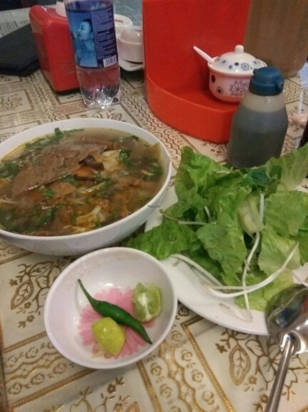 """Photo of Loving Hut - Bien Tinh Thuong  by <a href=""""/members/profile/Miggi"""">Miggi</a> <br/>Pho <br/> December 31, 2016  - <a href='/contact/abuse/image/36503/206467'>Report</a>"""