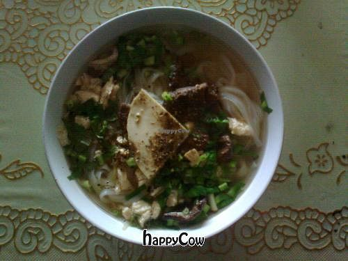 """Photo of Loving Hut - Bien Tinh Thuong  by <a href=""""/members/profile/brummkeks"""">brummkeks</a> <br/>Pho (noodle soup) <br/> January 21, 2013  - <a href='/contact/abuse/image/36503/43256'>Report</a>"""