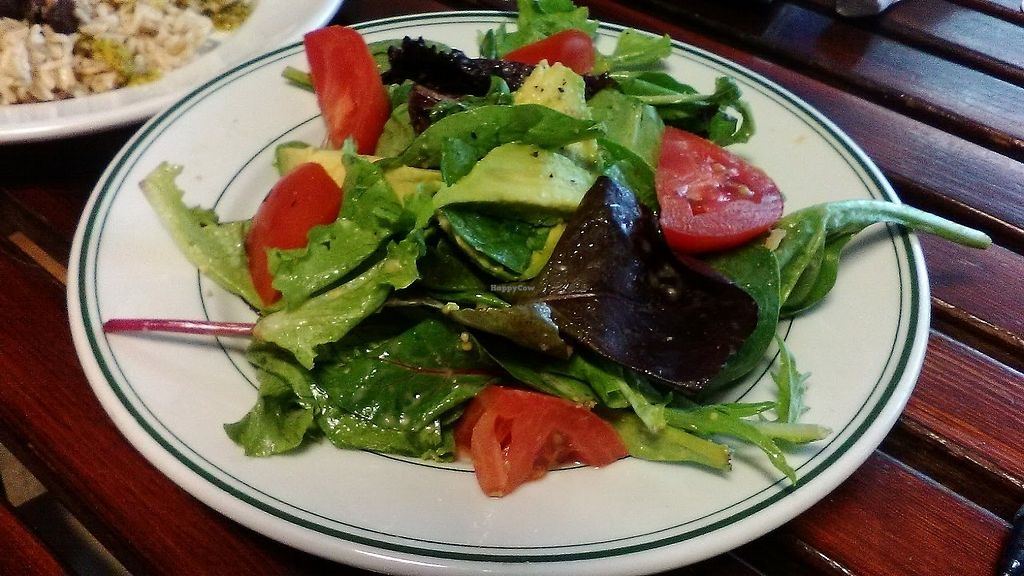"""Photo of Outdated - An Antique Cafe  by <a href=""""/members/profile/foodfirst"""">foodfirst</a> <br/>MC salad, a vegan item from the menu, July 2017 <br/> July 28, 2017  - <a href='/contact/abuse/image/36514/285709'>Report</a>"""