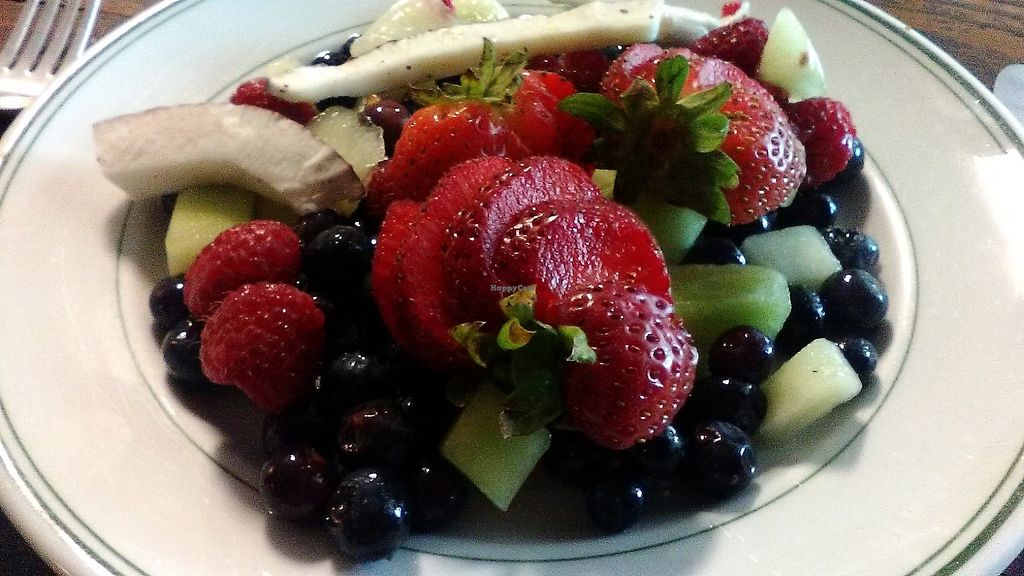 """Photo of Outdated - An Antique Cafe  by <a href=""""/members/profile/foodfirst"""">foodfirst</a> <br/>Fruit plate from Outdated <br/> August 11, 2017  - <a href='/contact/abuse/image/36514/291638'>Report</a>"""