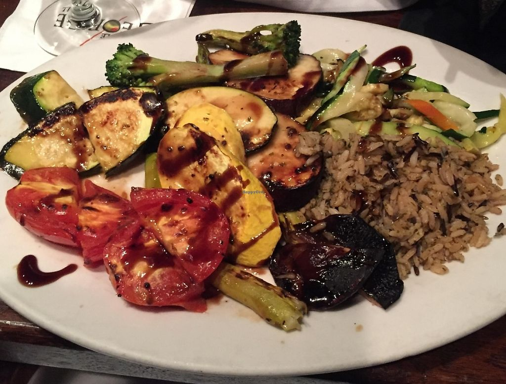 "Photo of Triple George Grill  by <a href=""/members/profile/LizF0311"">LizF0311</a> <br/>Roasted veggie plate -- dinner entree <br/> March 27, 2016  - <a href='/contact/abuse/image/36527/207677'>Report</a>"
