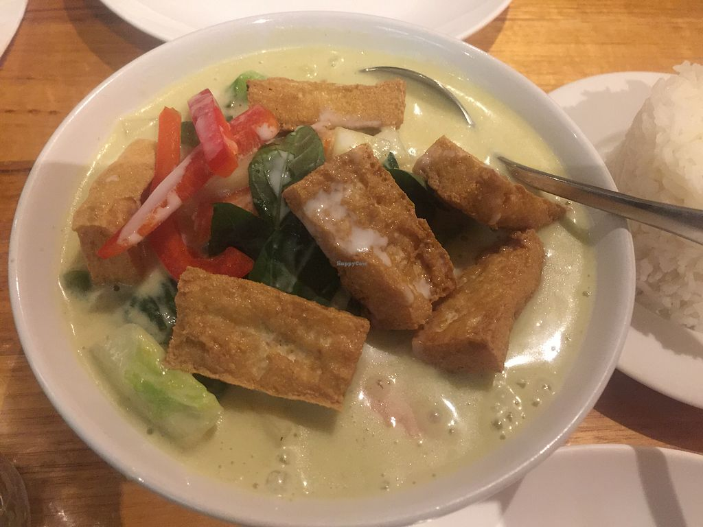 """Photo of Penn Thai  by <a href=""""/members/profile/Tiggy"""">Tiggy</a> <br/>Green Curry <br/> September 22, 2017  - <a href='/contact/abuse/image/36528/307031'>Report</a>"""