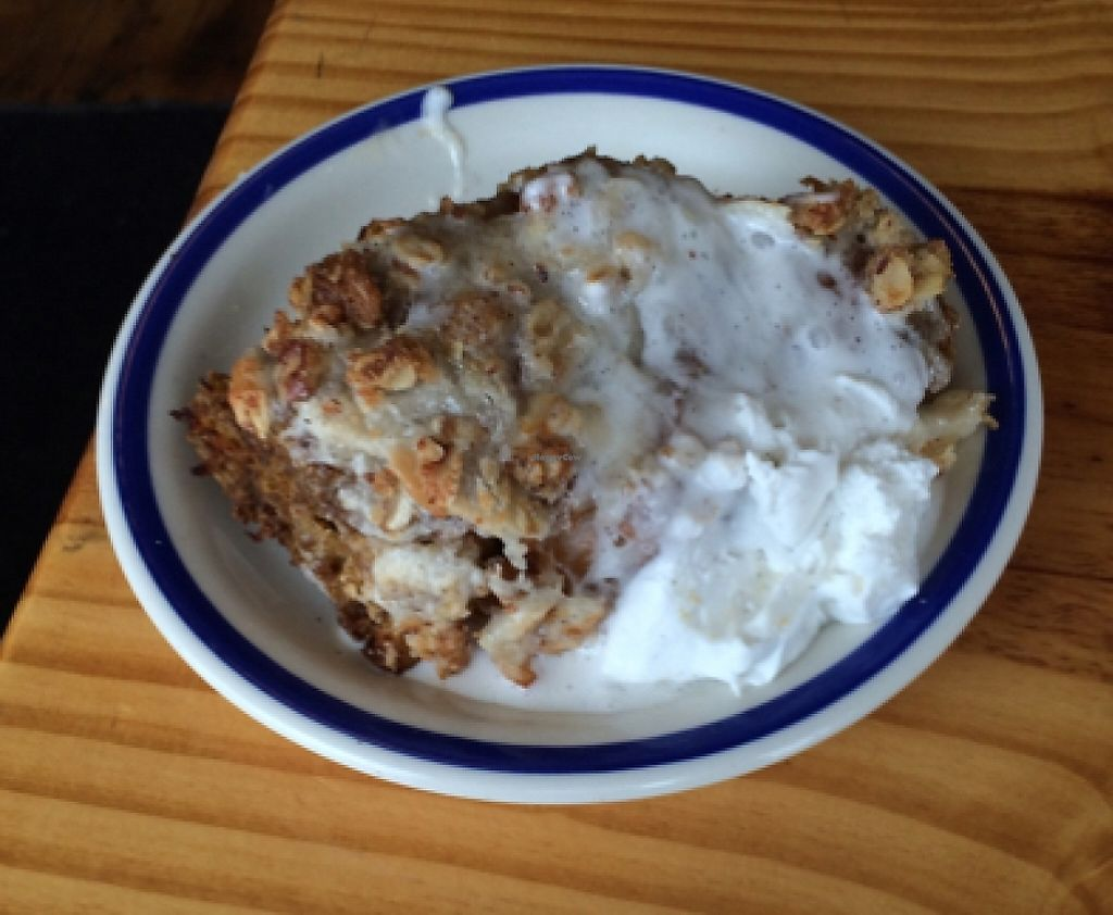 """Photo of Cleveland Vegan  by <a href=""""/members/profile/Tantrix4u"""">Tantrix4u</a> <br/>pumpkin French toast bake <br/> January 17, 2016  - <a href='/contact/abuse/image/36549/216949'>Report</a>"""