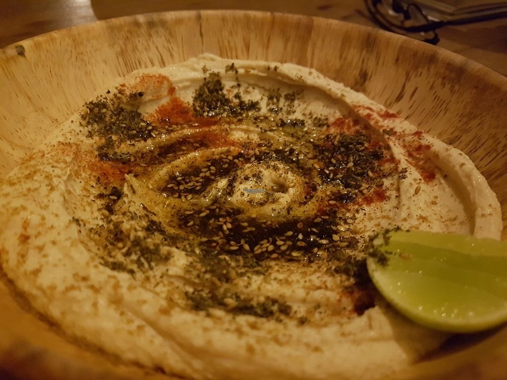 """Photo of Orion Cafe  by <a href=""""/members/profile/Rosa%20veg"""">Rosa veg</a> <br/>Hummus  <br/> April 23, 2017  - <a href='/contact/abuse/image/36552/251287'>Report</a>"""