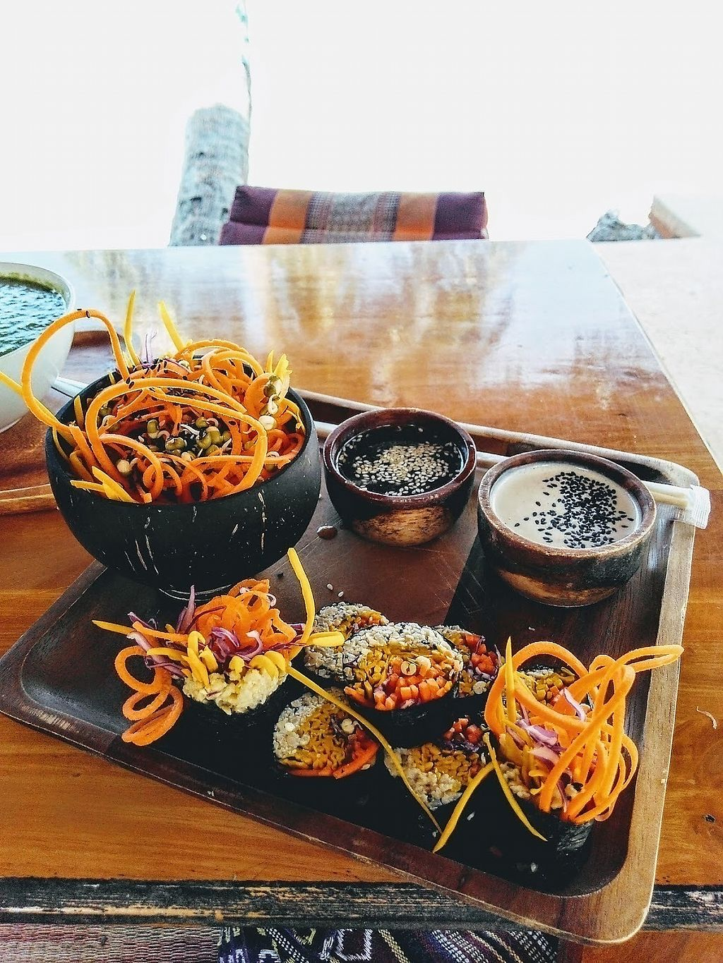 """Photo of Orion Cafe  by <a href=""""/members/profile/GinJan"""">GinJan</a> <br/>Raw Vegan Sushi - amazing!! <br/> January 6, 2018  - <a href='/contact/abuse/image/36552/343564'>Report</a>"""