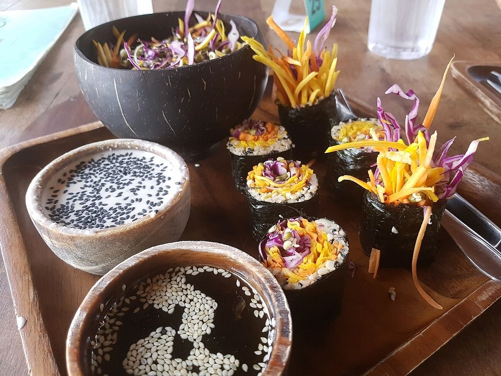 """Photo of Orion Cafe  by <a href=""""/members/profile/vegatleticas"""">vegatleticas</a> <br/>Raw Sushi <br/> March 9, 2018  - <a href='/contact/abuse/image/36552/368371'>Report</a>"""