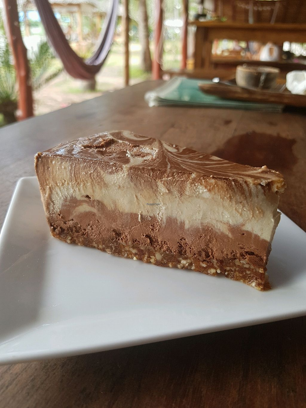"""Photo of Orion Cafe  by <a href=""""/members/profile/vegatleticas"""">vegatleticas</a> <br/>Banana and Chocolat Raw Cake <br/> March 9, 2018  - <a href='/contact/abuse/image/36552/368373'>Report</a>"""