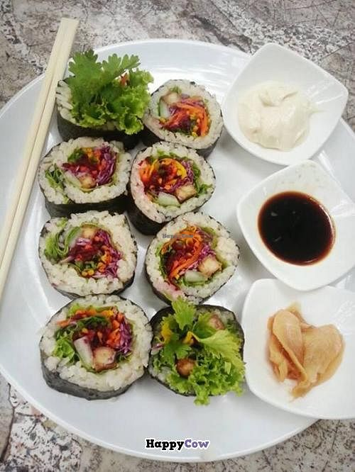 """Photo of Orion Cafe  by <a href=""""/members/profile/NuengSuwanee"""">NuengSuwanee</a> <br/>Vegetarian Suchi <br/> September 16, 2013  - <a href='/contact/abuse/image/36552/55048'>Report</a>"""