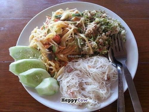 """Photo of Orion Cafe  by <a href=""""/members/profile/NuengSuwanee"""">NuengSuwanee</a> <br/>Vegetarian Thai munu <br/> September 16, 2013  - <a href='/contact/abuse/image/36552/55051'>Report</a>"""