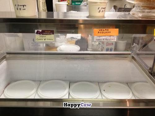 "Photo of The Perfect Scoop  by <a href=""/members/profile/Tigra220"">Tigra220</a> <br/>The vegan ice cream case. (I love that the ice cream containers are kept closed.) <br/> September 5, 2013  - <a href='/contact/abuse/image/36555/54478'>Report</a>"