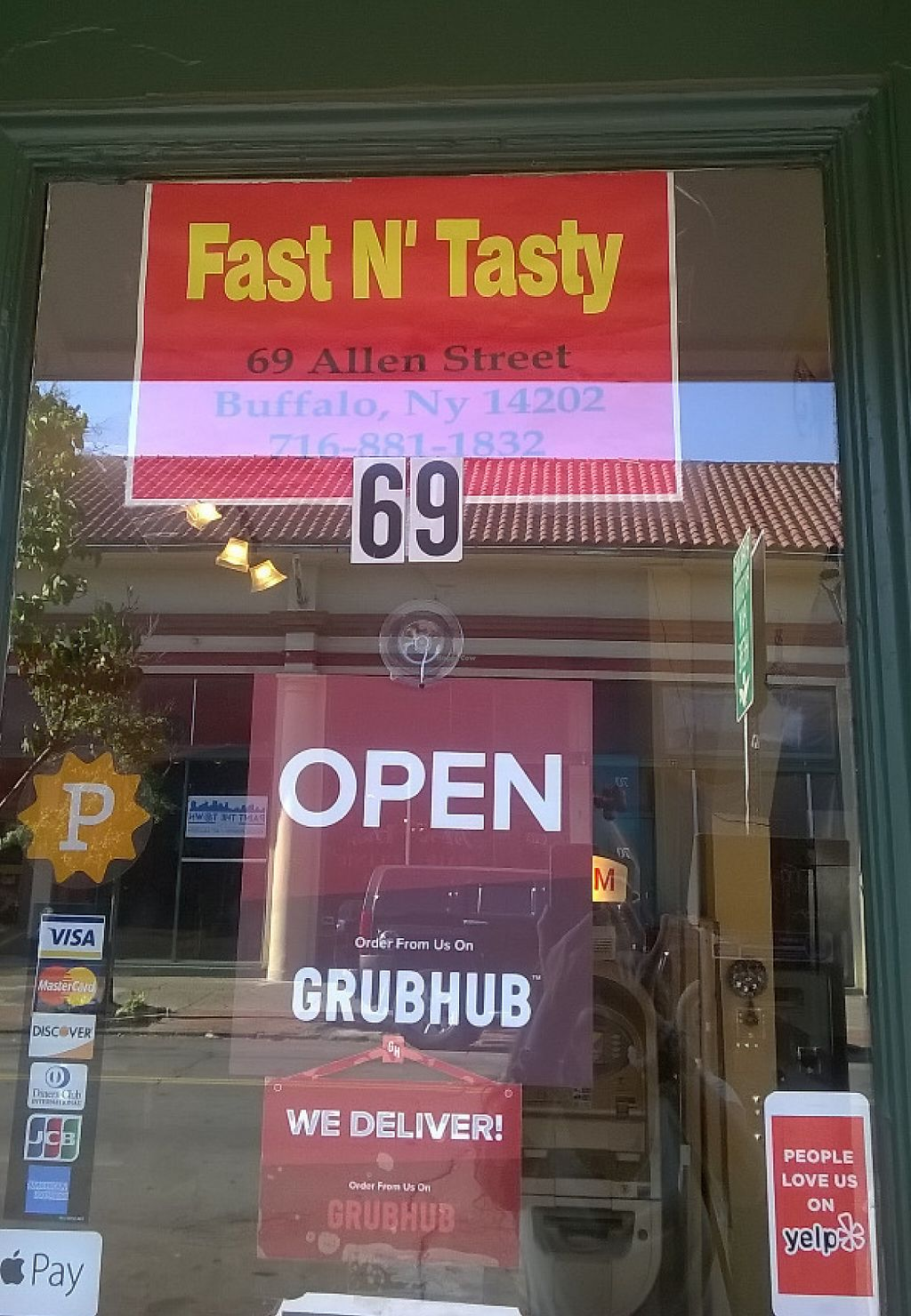 """Photo of Fast N' Tasty  by <a href=""""/members/profile/veganindunkirk"""">veganindunkirk</a> <br/>GATUR'S HAS A NEW NAME!!!  They said they had to change the name for business/tax purposes so take note -- it's now Fast N' Tasty.  Same location and same food <br/> July 16, 2016  - <a href='/contact/abuse/image/36559/209796'>Report</a>"""