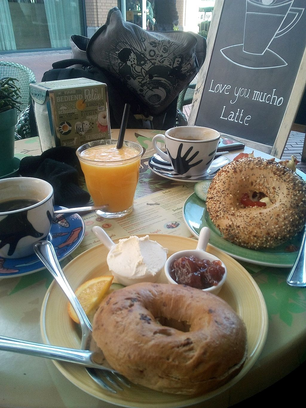 """Photo of Bagels & Beans  by <a href=""""/members/profile/maryfc"""">maryfc</a> <br/>brunch <br/> March 10, 2018  - <a href='/contact/abuse/image/36571/368918'>Report</a>"""