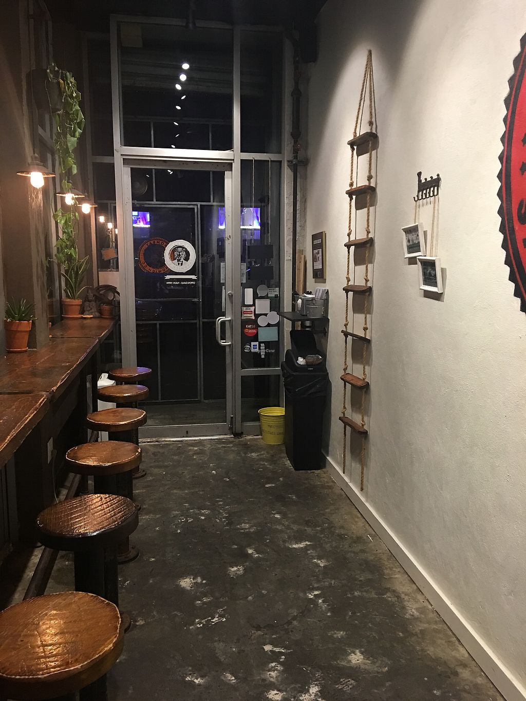 """Photo of Bombay Sandwich Co.  by <a href=""""/members/profile/adriannabn"""">adriannabn</a> <br/>Small seating area <br/> October 5, 2017  - <a href='/contact/abuse/image/36591/312028'>Report</a>"""