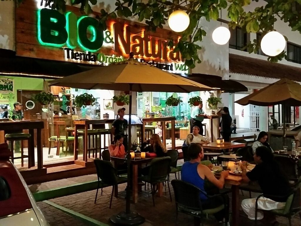 "Photo of The BIO&NATURAL Way - Restaurant & Tienda  by <a href=""/members/profile/eric"">eric</a> <br/>outside patio <br/> January 26, 2017  - <a href='/contact/abuse/image/36592/216906'>Report</a>"