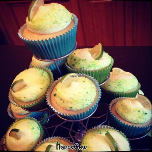 """Photo of Fairly Frosted Vegan Cupcakery  by <a href=""""/members/profile/CourtsAndCupcakes"""">CourtsAndCupcakes</a> <br/>Margarita Cupcakes - Grown-up (tequila) and kid friendly (virgin lime) <br/> February 4, 2013  - <a href='/contact/abuse/image/36593/43816'>Report</a>"""