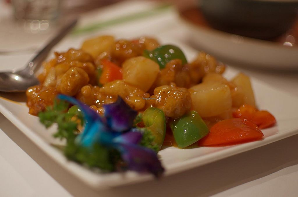 "Photo of Gong De Lin  by <a href=""/members/profile/chocoholicPhilosophe"">chocoholicPhilosophe</a> <br/>Sweet and sour 'pork' <br/> June 25, 2015  - <a href='/contact/abuse/image/36597/107300'>Report</a>"