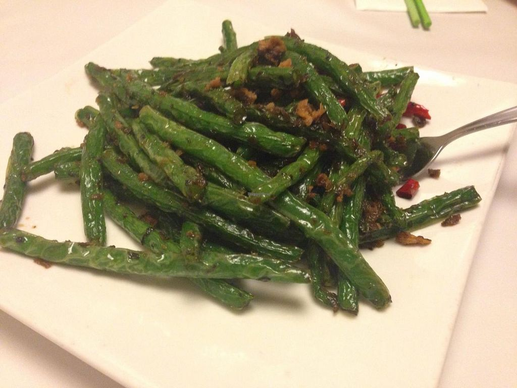 "Photo of Gong De Lin  by <a href=""/members/profile/Tiggy"">Tiggy</a> <br/>Stirfried string beans - March 2015 <br/> March 21, 2015  - <a href='/contact/abuse/image/36597/96508'>Report</a>"