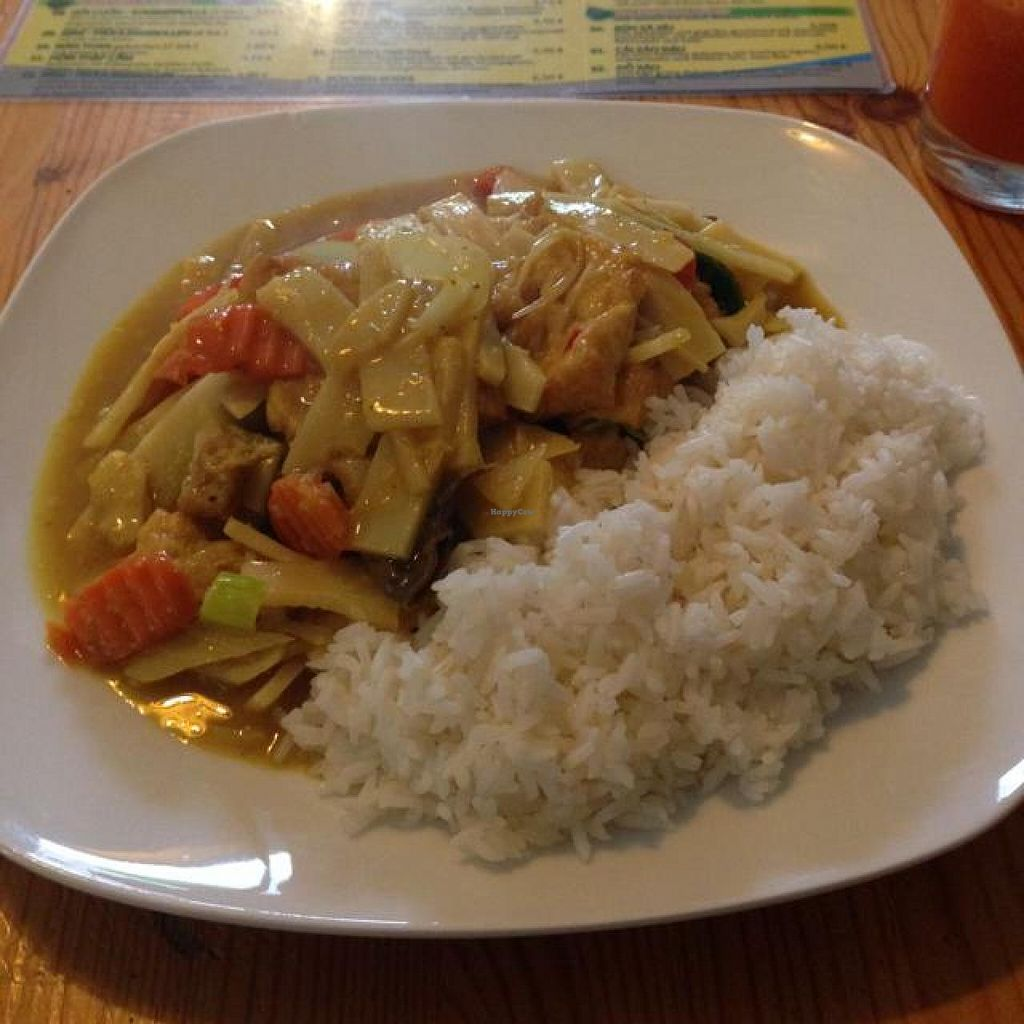 """Photo of CLOSED: Bodhi Chay  by <a href=""""/members/profile/AndyT"""">AndyT</a> <br/>Menu: Tofu curry with mixed vegetables and rice <br/> April 17, 2014  - <a href='/contact/abuse/image/36599/67811'>Report</a>"""