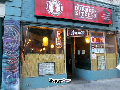 "Photo of Burmese Kitchen  by <a href=""/members/profile/AshleyLorden"">AshleyLorden</a> <br/>View from the street -- it's on a block with lots of other restaurants <br/> November 10, 2013  - <a href='/contact/abuse/image/36601/58312'>Report</a>"