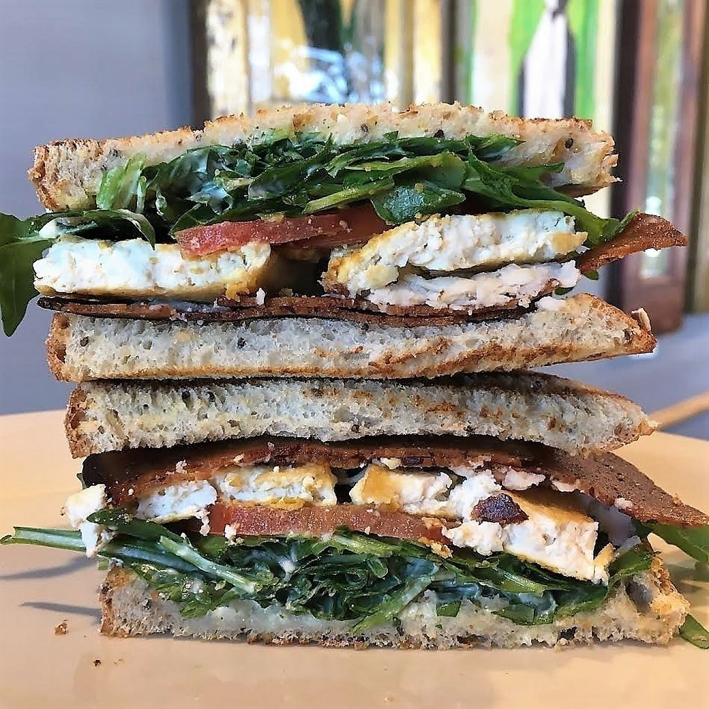"""Photo of Mead's Green Door Cafe  by <a href=""""/members/profile/Laura1G2C"""">Laura1G2C</a> <br/>Morning Stack with Tofu <br/> March 15, 2017  - <a href='/contact/abuse/image/36604/236877'>Report</a>"""