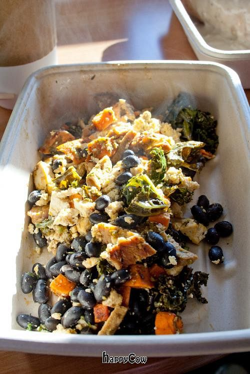 """Photo of Mead's Green Door Cafe  by <a href=""""/members/profile/spiceislandvegan"""">spiceislandvegan</a> <br/>Sweet Potato Hash, bowl style <br/> February 17, 2013  - <a href='/contact/abuse/image/36604/44323'>Report</a>"""