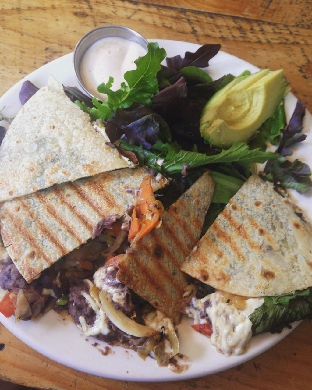 Photo of Superfresh Organic Cafe  by Stormethh <br/>The kimchi quesadilla - Delicious!  <br/> July 24, 2016  - <a href='/contact/abuse/image/36615/161927'>Report</a>