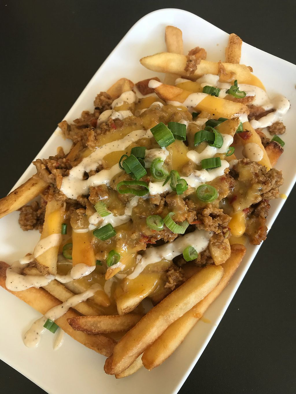 """Photo of Green Bar and Kitchen  by <a href=""""/members/profile/VictoriaLozada"""">VictoriaLozada</a> <br/>Loaded fries! <br/> February 23, 2018  - <a href='/contact/abuse/image/36631/362859'>Report</a>"""