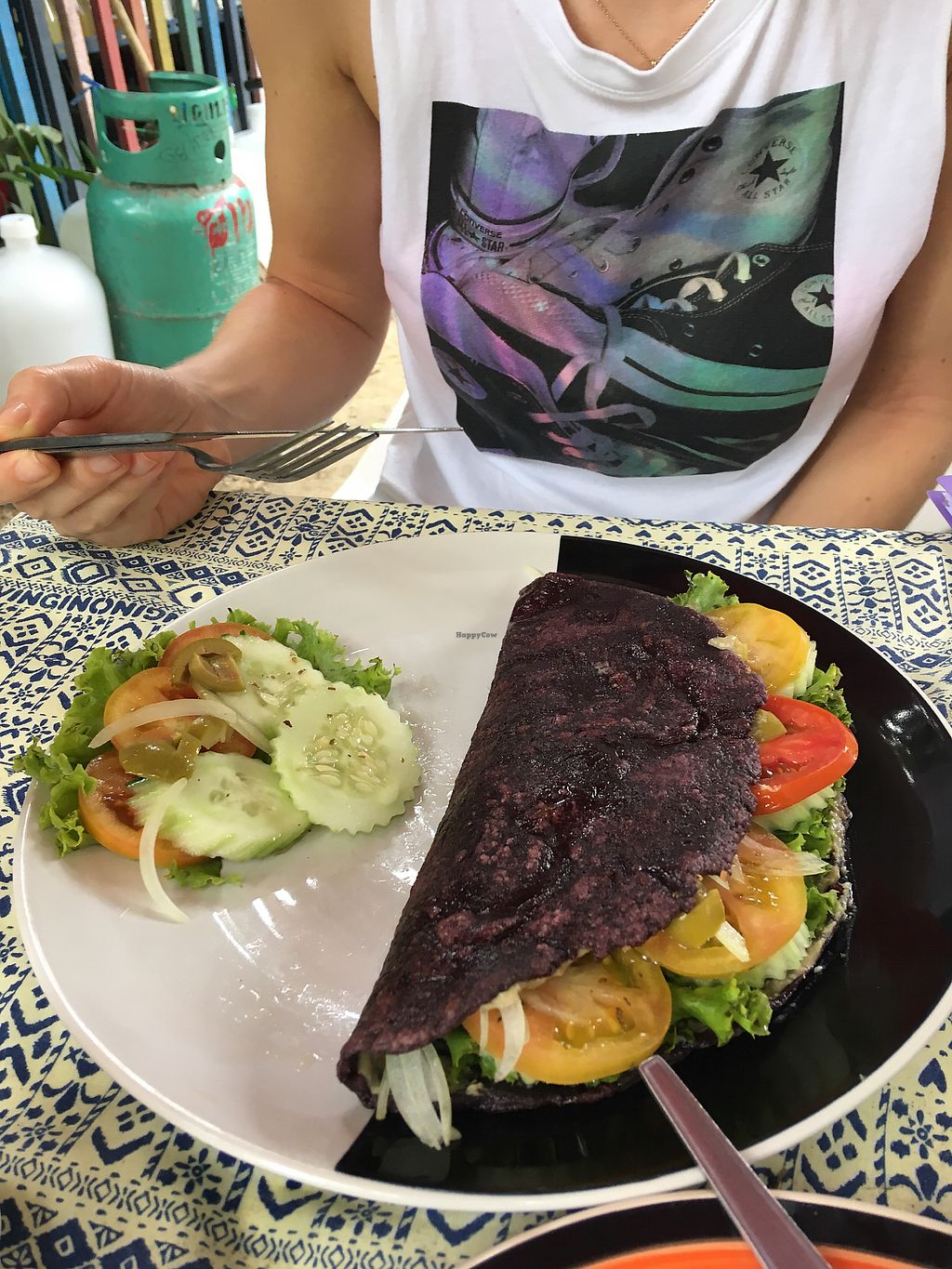 """Photo of Cha Chai Home  by <a href=""""/members/profile/mbaranya"""">mbaranya</a> <br/>Hummus Olive Pita Gluten Free ? <br/> December 17, 2017  - <a href='/contact/abuse/image/36658/336497'>Report</a>"""