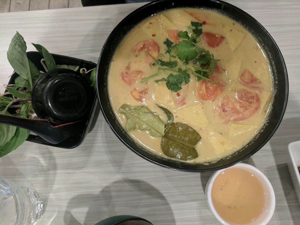 "Photo of Taste of Saigon  by <a href=""/members/profile/lmcc"">lmcc</a> <br/>Spicy Tamarind Tofu Coco Noodle Soup (vegan) <br/> January 8, 2018  - <a href='/contact/abuse/image/36667/344210'>Report</a>"