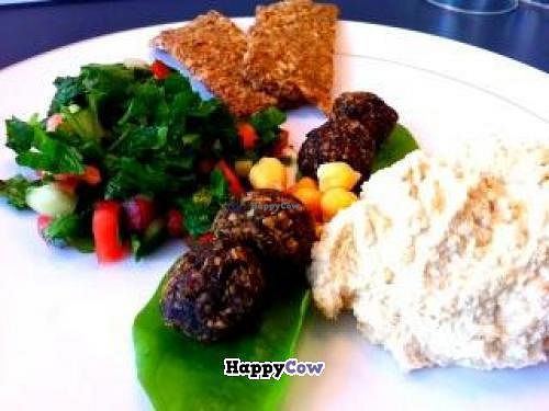 "Photo of CLOSED: Rawlicious  by <a href=""/members/profile/mohammedvaid1"">mohammedvaid1</a> <br/>Oriental Mezze with Falafel, Humus and Tabhouli