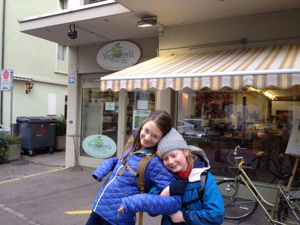 """Photo of Vegelateria  by <a href=""""/members/profile/sophiefp"""">sophiefp</a> <br/>happy British vegans after Vegelateria <br/> January 11, 2015  - <a href='/contact/abuse/image/36683/90128'>Report</a>"""