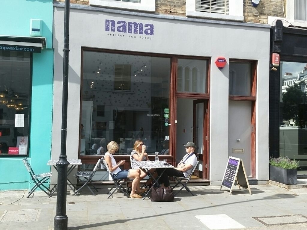 """Photo of CLOSED: Nama Artisan Raw Foods  by <a href=""""/members/profile/eric"""">eric</a> <br/>outside <br/> July 25, 2016  - <a href='/contact/abuse/image/36686/162196'>Report</a>"""