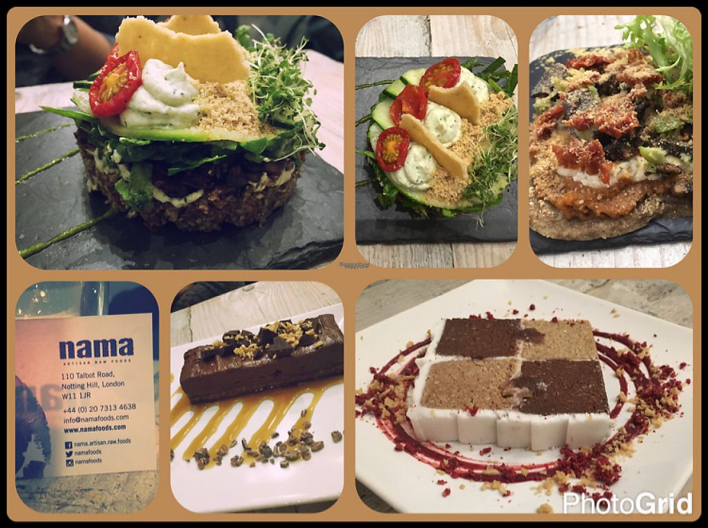 """Photo of CLOSED: Nama Artisan Raw Foods  by <a href=""""/members/profile/moonlighthirani"""">moonlighthirani</a> <br/>divine flavours!!? <br/> January 7, 2017  - <a href='/contact/abuse/image/36686/209315'>Report</a>"""