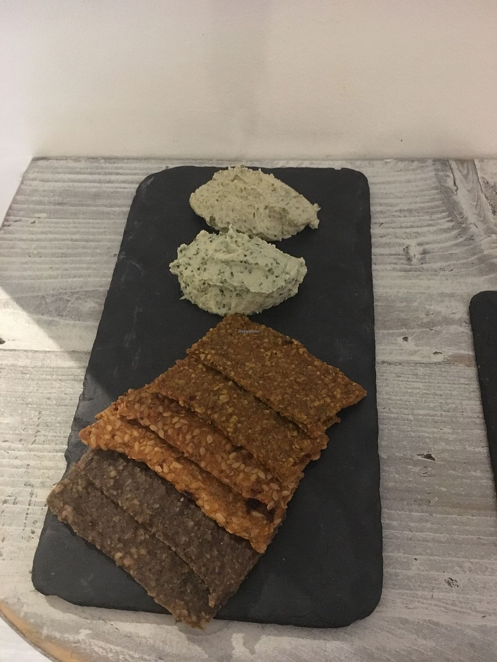 """Photo of CLOSED: Nama Artisan Raw Foods  by <a href=""""/members/profile/BecCarter"""">BecCarter</a> <br/>Cheese & Crackees <br/> January 15, 2018  - <a href='/contact/abuse/image/36686/346933'>Report</a>"""