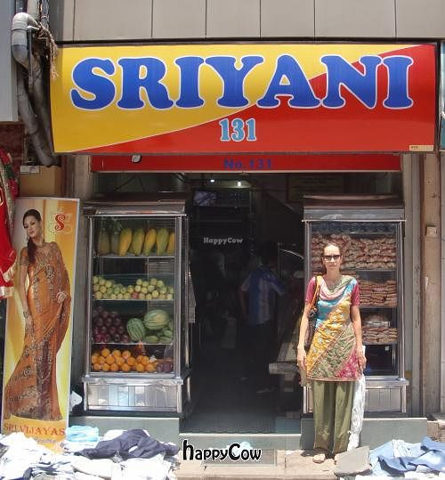 "Photo of Sriyani  by <a href=""/members/profile/LobkeBrasseur"">LobkeBrasseur</a> <br/>front of sriyani restaurant <br/> May 9, 2013  - <a href='/contact/abuse/image/36735/48094'>Report</a>"