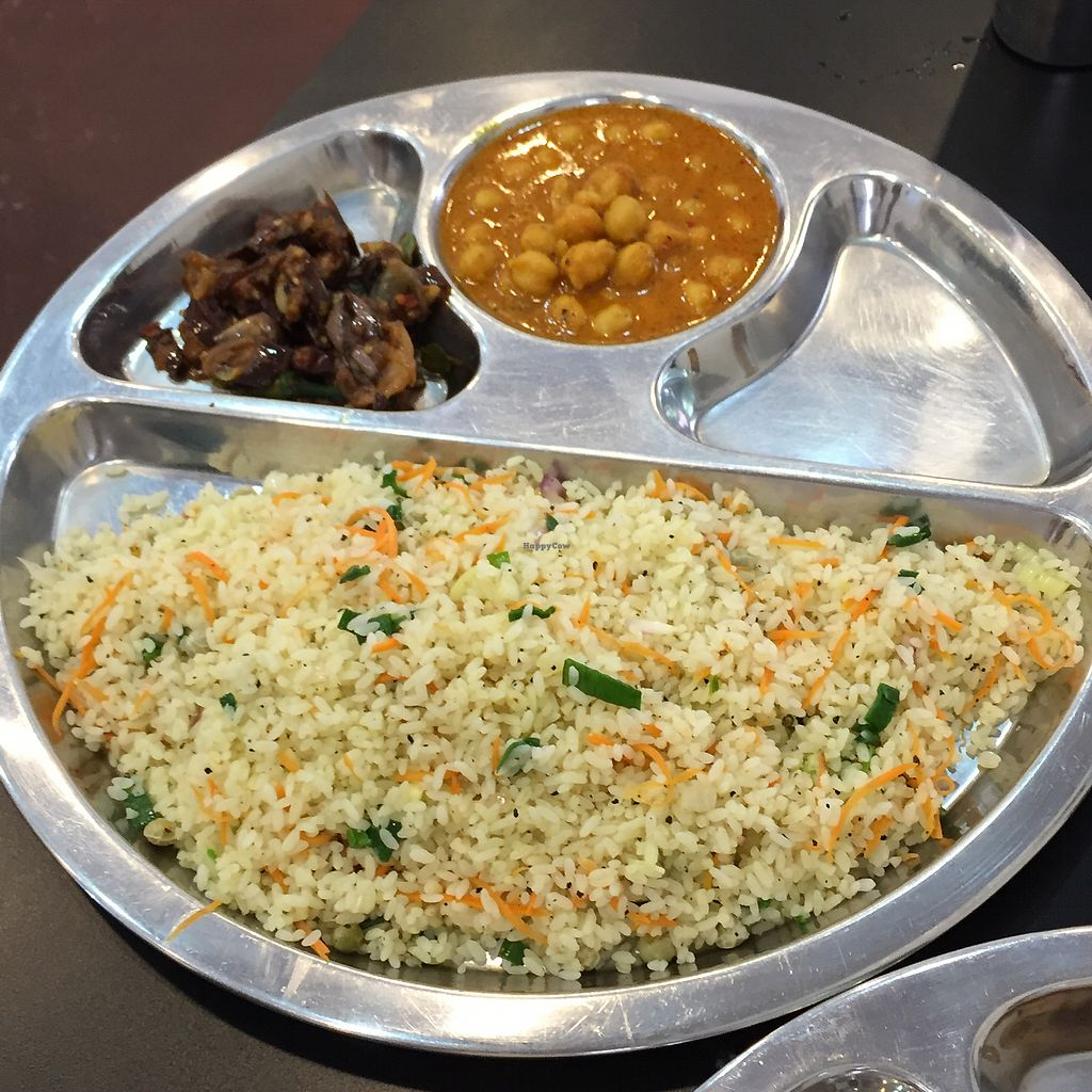 "Photo of Balaji Dosai  by <a href=""/members/profile/peterstuckings"">peterstuckings</a> <br/>Veg fried rice <br/> February 17, 2018  - <a href='/contact/abuse/image/36736/360227'>Report</a>"