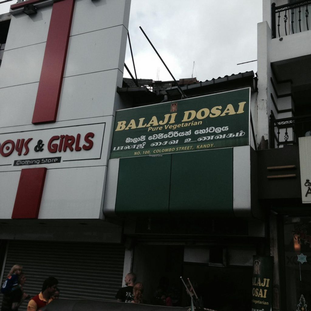 "Photo of Balaji Dosai  by <a href=""/members/profile/Crustina"">Crustina</a> <br/>View of the restaurant from Colombo Street <br/> December 29, 2014  - <a href='/contact/abuse/image/36736/88900'>Report</a>"