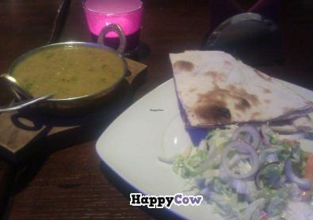 """Photo of Cafe VS  by <a href=""""/members/profile/Merryaurora"""">Merryaurora</a> <br/>Red lentils and naan bread <br/> October 19, 2013  - <a href='/contact/abuse/image/36744/237744'>Report</a>"""