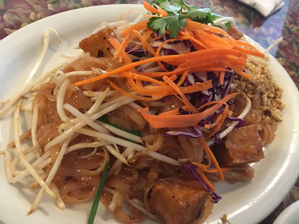 "Photo of Thai BBQ  by <a href=""/members/profile/mcm425"">mcm425</a> <br/>tofu pad Thai no egg <br/> August 19, 2017  - <a href='/contact/abuse/image/36754/294546'>Report</a>"