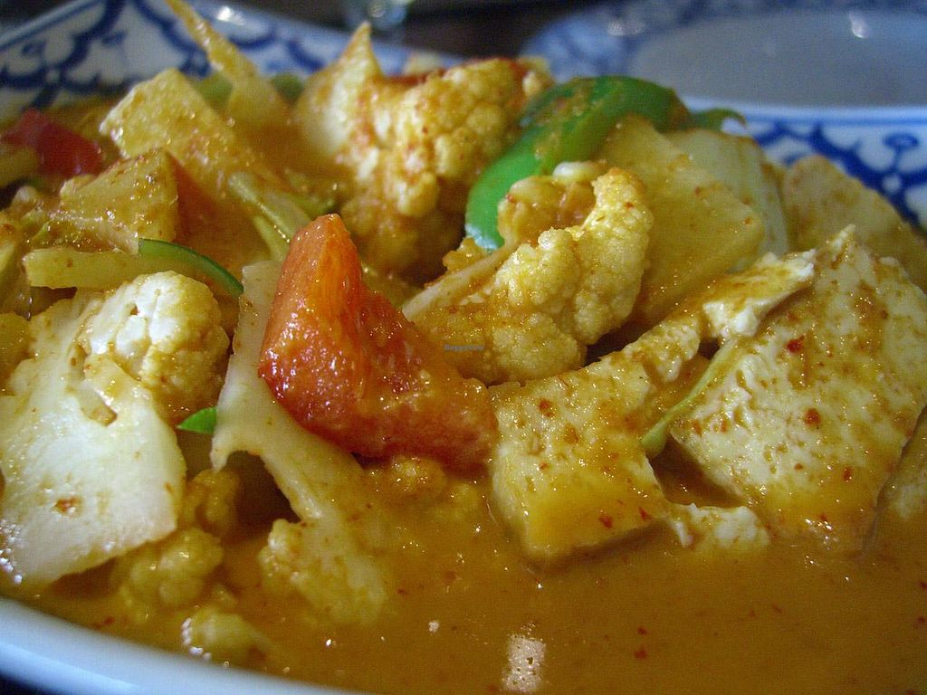 """Photo of Lemon Grass  by <a href=""""/members/profile/Tanja%2A"""">Tanja*</a> <br/>Tofu in red coconut curry <br/> April 11, 2014  - <a href='/contact/abuse/image/36768/67415'>Report</a>"""