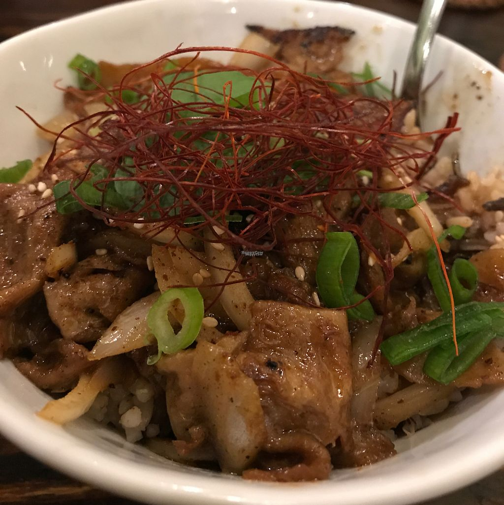 """Photo of VegiLicious  by <a href=""""/members/profile/xmrfigx"""">xmrfigx</a> <br/>Kobe BBQ Bowl <br/> April 23, 2017  - <a href='/contact/abuse/image/36781/251620'>Report</a>"""