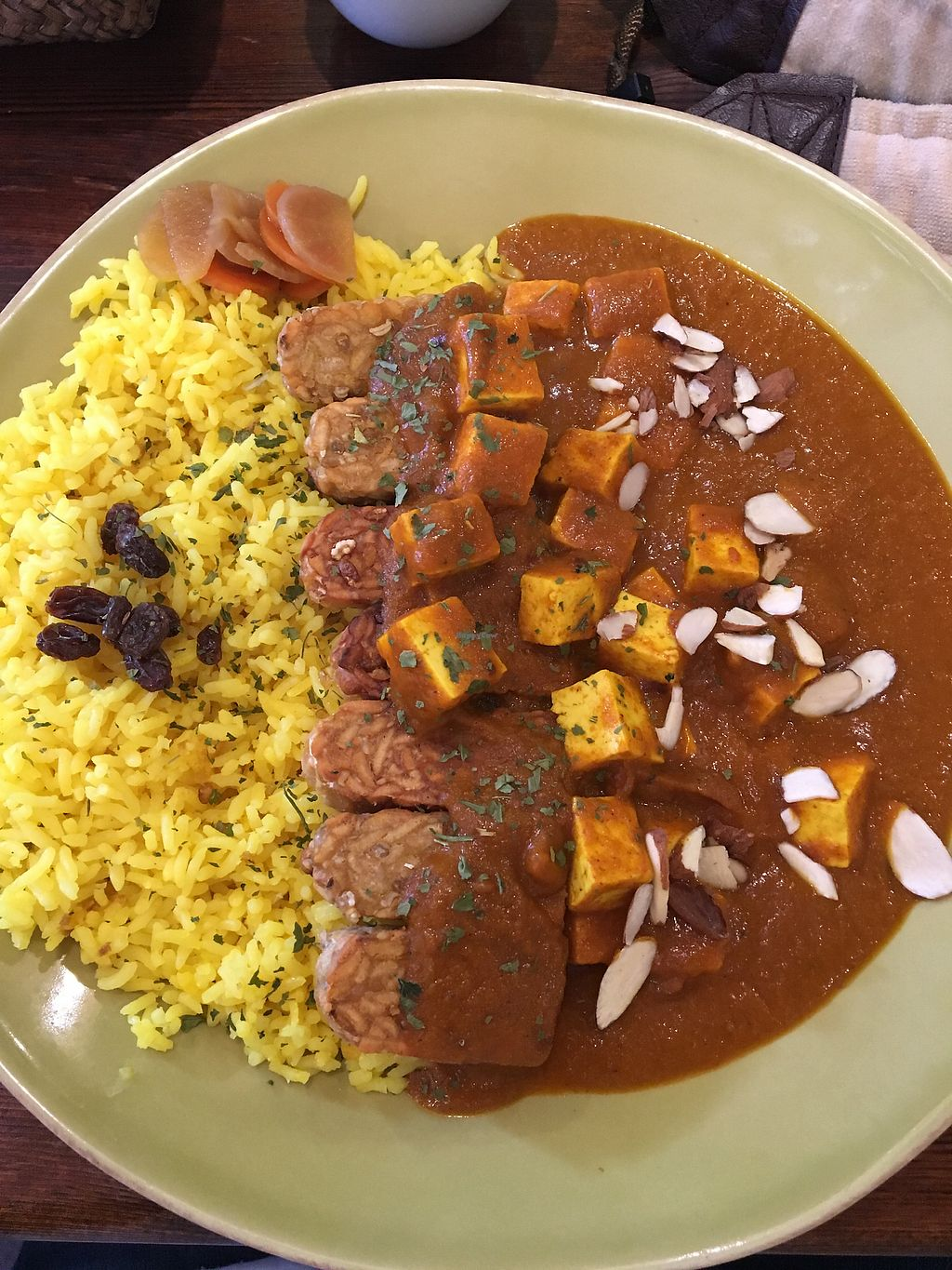 """Photo of VegiLicious  by <a href=""""/members/profile/jkseoulcraic"""">jkseoulcraic</a> <br/>Gf tempeh with tofu curry <br/> March 18, 2018  - <a href='/contact/abuse/image/36781/372661'>Report</a>"""