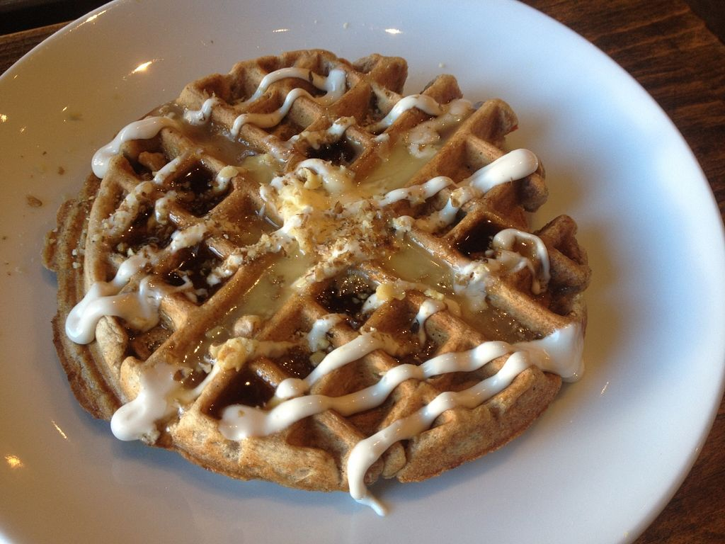 "Photo of Timeless Coffee Roasters and Bakery  by <a href=""/members/profile/vegan_ryan"">vegan_ryan</a> <br/>Carrot cake waffle <br/> December 13, 2015  - <a href='/contact/abuse/image/36793/128246'>Report</a>"