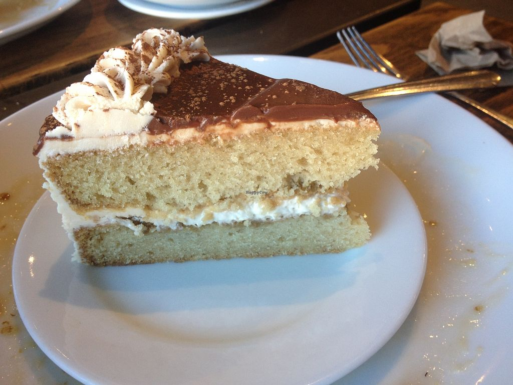 "Photo of Timeless Coffee Roasters and Bakery  by <a href=""/members/profile/vegan_ryan"">vegan_ryan</a> <br/>Tiramisu cake <br/> December 13, 2015  - <a href='/contact/abuse/image/36793/128247'>Report</a>"