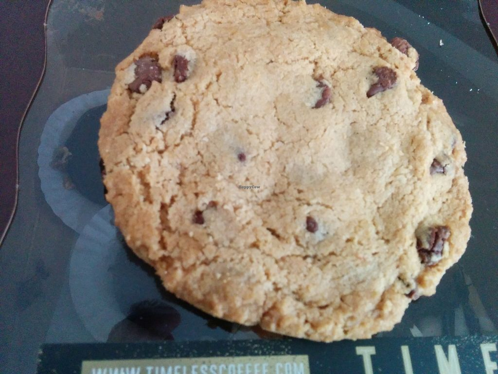 "Photo of Timeless Coffee Roasters and Bakery  by <a href=""/members/profile/MizzB"">MizzB</a> <br/>Chocolate chip cookie <br/> May 22, 2016  - <a href='/contact/abuse/image/36793/150305'>Report</a>"