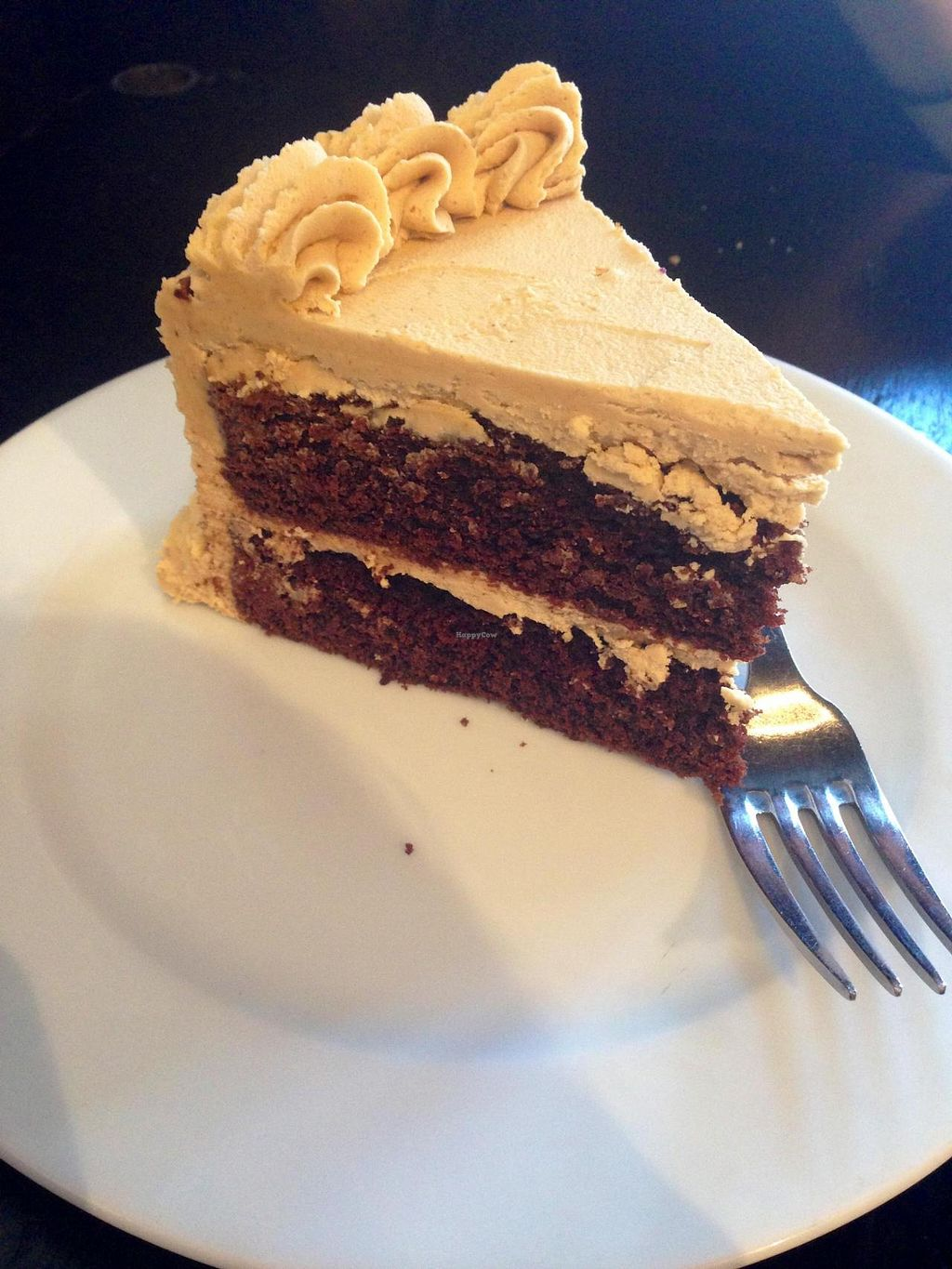 "Photo of Timeless Coffee Roasters and Bakery  by <a href=""/members/profile/jamiemichelle_xvx"">jamiemichelle_xvx</a> <br/>Vegan Peanut Butter and Chocolate Cake <br/> June 5, 2014  - <a href='/contact/abuse/image/36793/71403'>Report</a>"